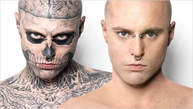 Zombie Boy w kampanii kosmetyków Dermablend