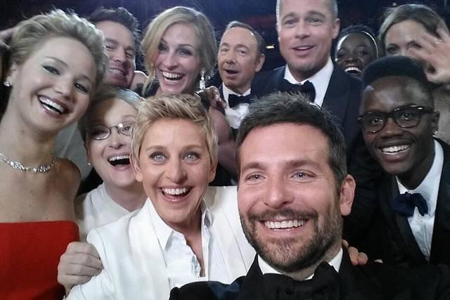 Selfie z gali oskarowej